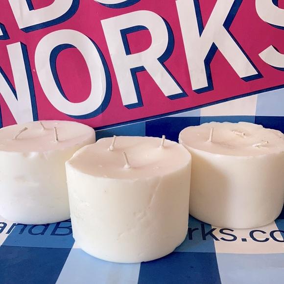 Three Tropical Bath & Body Works Candles